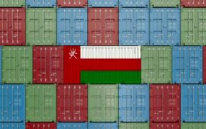 Exports and imports of Oman