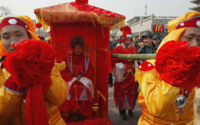 Marriage tradition China