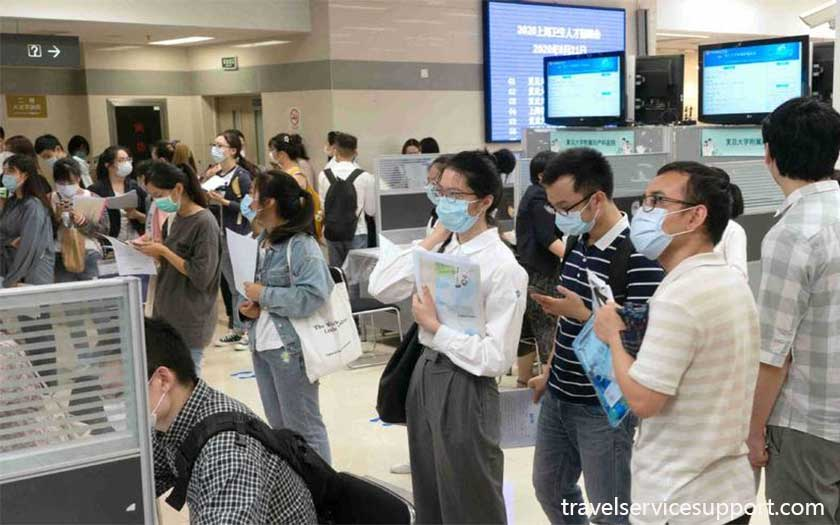 Job search in China